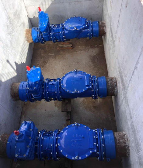 AC Whalan sewer pipes installation